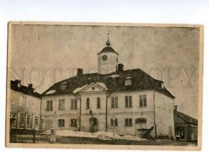132506 Finland PORVOO Raatihuone Town Hall Vintage postcard