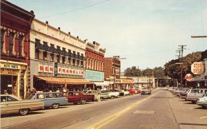 Geneva Ohio~Broadway Avenue~Main Street~Ben Franklin~Stop n Shop~1960s Pc