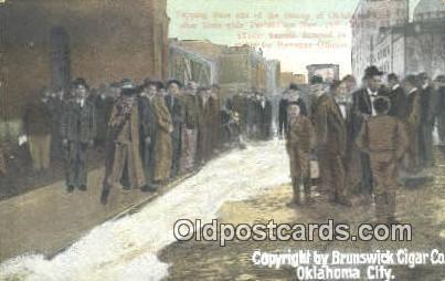 Brunswick Cigar Co. Oklahoma City 1907 Prohibition, dipping beer out of the s...
