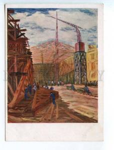 250207 USSR RUSSIA SIDORENKO Construction plant AHR AChR #602