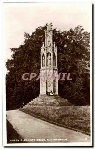 Postcard Old Queen Eleanor Cross Northampton