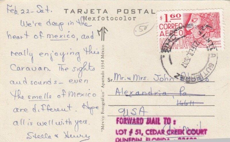 PALENQUE, Chiapas, Mexico, 1940-60s; 4-views