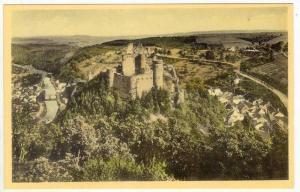 Vlanden, Luxembourg, Le Chateau vu du Belvedere 40-60s