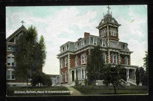 POSTCARD-VINTAGE - Mt. St. Scholastica Academy - Scott #328