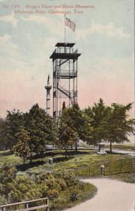 Tennessee Chattanooga Brogg's Tower and Illinois Monument Missionary Ridge