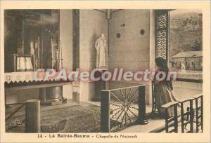 Postcard Old Sainte Baume Chapel of Nazareth