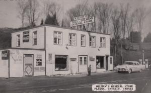 RP: PLEVNA , Ontario, Canada, 30-40s ; Ohlman's General Store