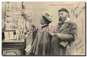 Old Postcard Fantaisie Amateurs and Collectors Postcards