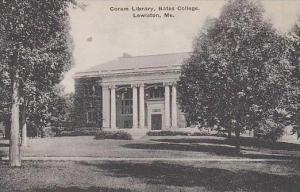 Maine Lewiston Coram Library Bates College Albertype