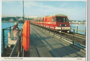 Essex; Pier Train, Southend On Sea PPC By Dennis, Unposted