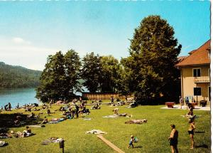 Austria, Krumpendorf am Worthersee, Strandbad Stich, Karnten, used Postcard