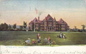 Masonic Home Utica New York 1905 Tucks