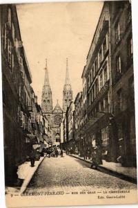 CPA CLERMONT-FERRAND - Rue des Gras - La Cathedrale (221728)