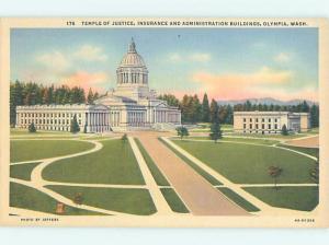 Unused Linen BUILDING Olympia Washington WA hn8829