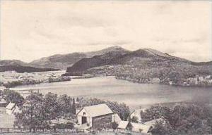 New York Adirondack Mirror Lake and Lake Placid From Grandview Hotel