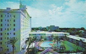 Florida Clearwater Jack Tar Hotel With Pool 1967