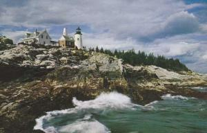 Pemaquid Light House at Pemaquid ME, Maine
