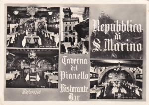 RP: Taverna del Pianello ; Ristorante Bar , Repubblica di S. Marino , 1954