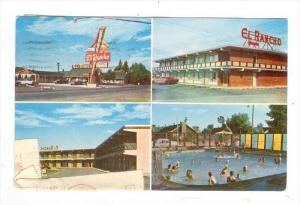 El Rancho Motor Lodge, US 30, East Rock Springs, Wyoming, PU-1965