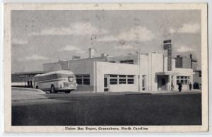 Union Bus Depot, Greensboro NC