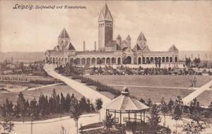 LEIPZIG, Saxony, Germany, PU-1912; Sudfriedhof Und Krematorium