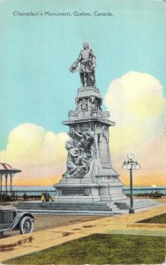 Champlain's Monument Quebec Canada Series Post Card & Greeting Card Co Postcard