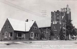 RP; Immaunel's Lutheran Church & Parsonage, CLARA CITY, Minnesota, PU-1958