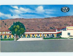 Pre-1980 APPROVED AAA MOTEL GENERIC CARD hk1765