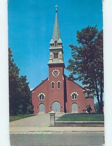 Pre-1980 CHURCH SCENE Waltham - Near Boston Massachusetts MA A9247