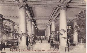 Rounda of Royal Alexandra Hotel , Winnipeg , Manitoba , Canada , PU-1910