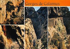 France Gorges de Galamus Aude Road Postcard