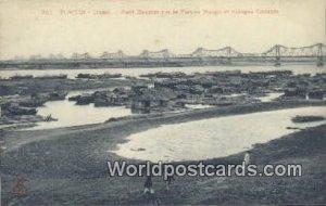 Hanoi, Pont Doumer aur le Fleuve Rouge Tonkin Vietnam, Viet Nam Unused
