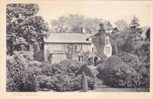 RYDAL MOUNT,  best known as the home of the poet William Wordsworth from 1813...