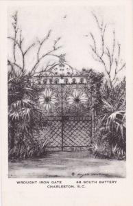Wrought Iron Gate, Charleston, South Carolina,  00-10s