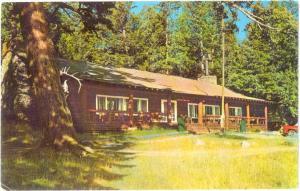 Roosevelt Lodge at Jct of NE Entrance Road Yellowstone Wyomi