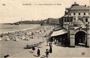 CPA BIARRITZ - Le Casino Municipal et la Plage (162885)