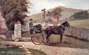 Irish Jaunting car near Carlingford via Holyhead an Greenore