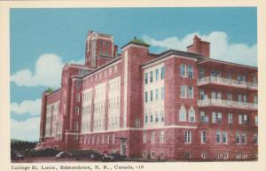 EDMUNDSTON , N.B. ,Canada , 10s-20s; College St. Louis