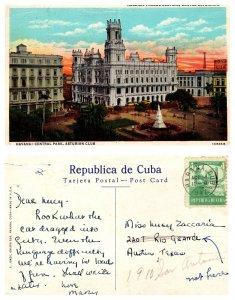Habana Parque Cental, Centrol Asturiano, Cuba