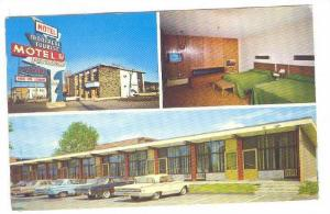 Montreal Tourist Motel ,Montreal , Quebec , Canada , 1968