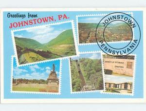 Pre-1980 MULTIPLE VIEWS ON CARD Johnstown Pennsylvania PA ho8152