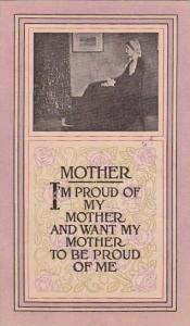 Mothers Day Winslow Portrait Of Mother 1912