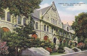 Louisiana New Orleans Tulane University Gibson Hall