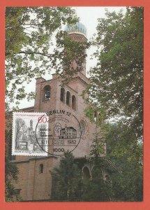 MAXI CARD – GERMANY, BERLIN – 1982 – ST. PETER & PAUL CHURCH