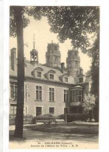 Orleans, France, 00-10s ; Jardin de l'Hotel de Ville
