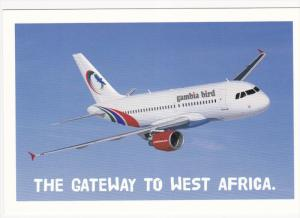 gambia bird airlines airplane #2 , 80-90s