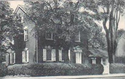 Delaware New Castle Kensey John House Built 1789 Albertype