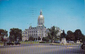 The State Capitol At Hartford Connecticut
