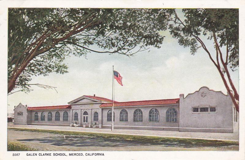 MERCED , California , 00-10s ; Galen Clarke School