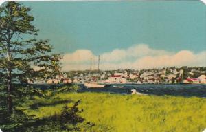 Canada Nova Scotia Cape Breton Town Of Baddeck Near Cape Breton Highlands Nat...